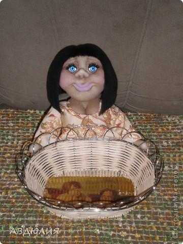 Очень понравилась хлебница Елены Аржановой, вот решила и себе сделать!!! фото 1