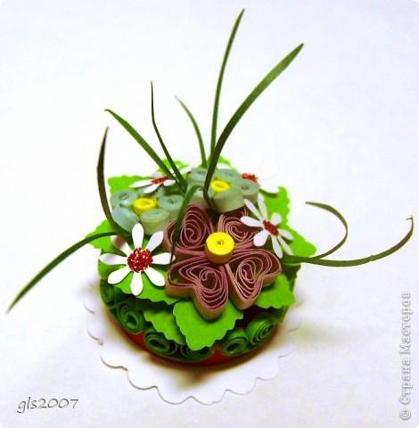 Квиллинг-тортик фото 1