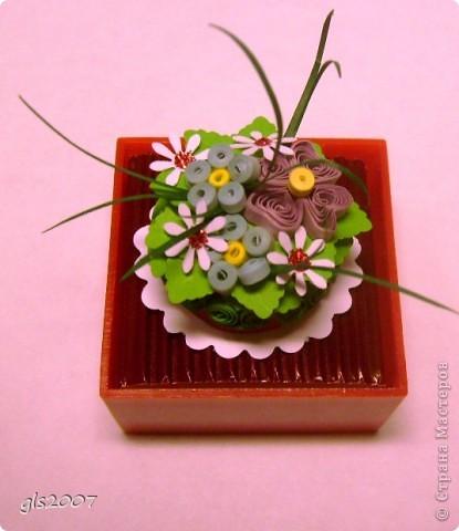 Квиллинг-тортик фото 2