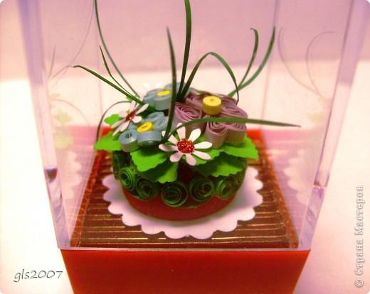 Квиллинг-тортик фото 4