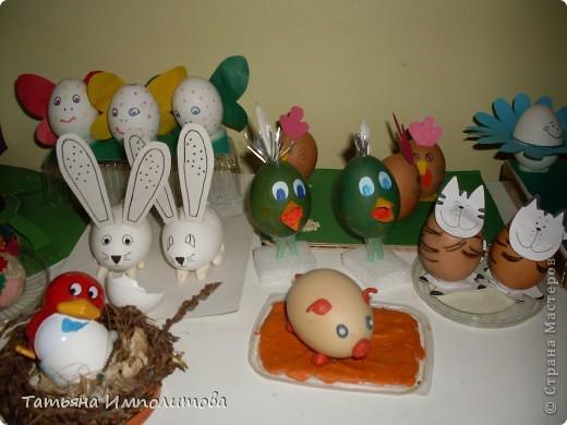 Поделки из яиц (выставка) фото 1