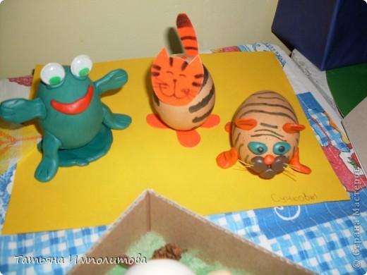 Поделки из яиц (выставка) фото 11