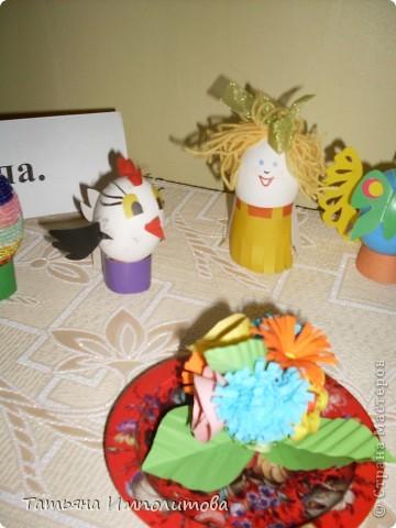 Поделки из яиц (выставка) фото 5