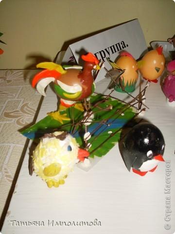 Поделки из яиц (выставка) фото 7