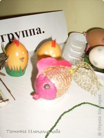 Поделки из яиц (выставка) фото 8