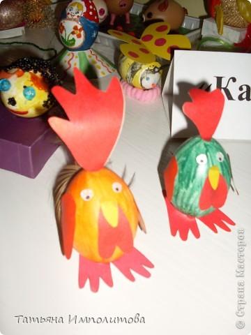 Поделки из яиц (выставка) фото 9