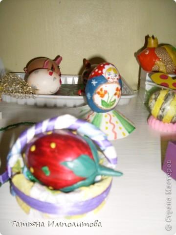 Поделки из яиц (выставка) фото 6