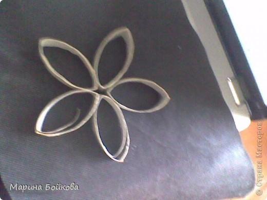 цветы из туалетной бумаги фото 5