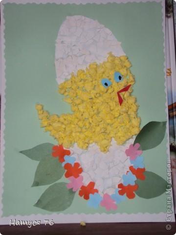 Делали к празднику с детьми цыплят,дети в восторге,родители тоже... Это мой ... фото 3