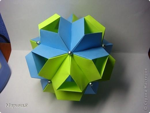 Книга Unit Origami Fantasy  продолжение... Стр.110-111 фото 6
