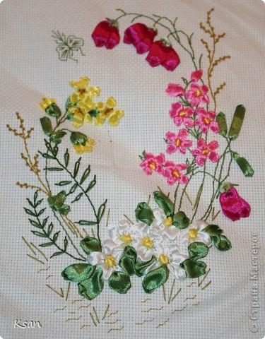 Вышивка лентами. фото 1