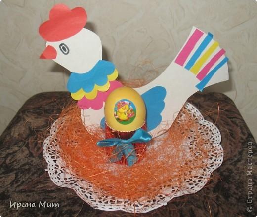 Наша курочка несушка к Пасхе снесла цветные яички!!! Так с дочкой мы подготовились к Светлому празднику Пасхи! фото 2