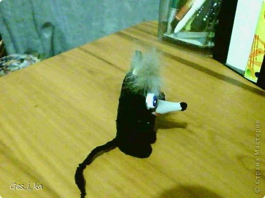 выкладываю МК по мышке от Машки, только у меня не было серой ткани, поэтому мышка черная фото 24
