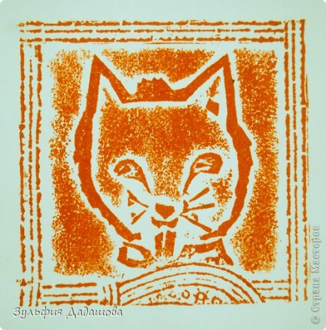 Детям нравится эта техника. Работы мы делаем небольшие - 1/4 или 1/2 формата А4. Печатаем на белой или тонированной бумаге, также можно делать подцветку акварельными красками. Работы детей 8 -10 лет. фото 8