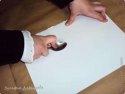 Гравюра из картона своими руками