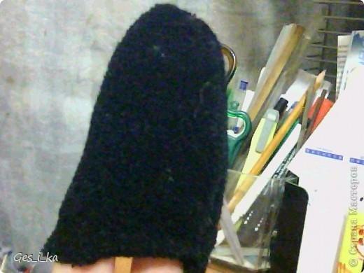 выкладываю МК по мышке от Машки, только у меня не было серой ткани, поэтому мышка черная фото 8