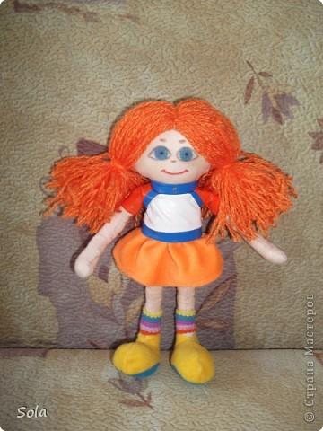 кукла Апельсинка фото 2