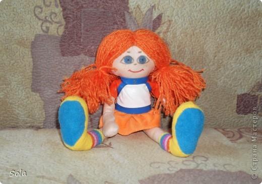 кукла Апельсинка фото 1