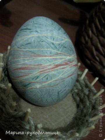 Вот такие яички в этом году получились у меня! Я как человек творческий не могла просто покрасить яйца, я ведь узнала про Страну мастеров, столько разных техник освоила, вот и применила... фото 2