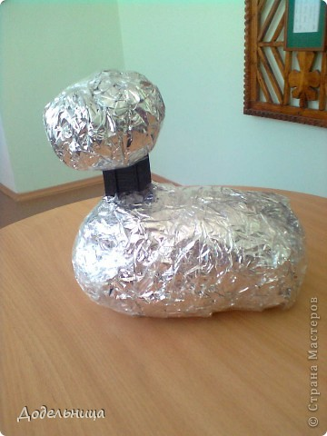 Вот такую пасхальную курочку я изготовила для украшения палисадника. Я думаю все понятно и без слов, по одним фото. фото 2