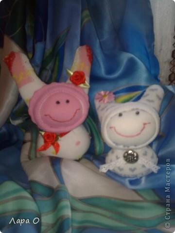 Кукляшки из носочков фото 1