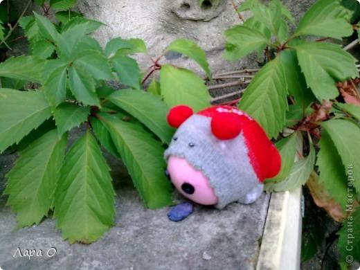 Кукляшки из носочков фото 9