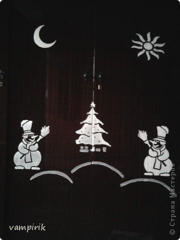 вот такой милый зайчонок появился на моем шкафу в новогоднюю ночь фото 2