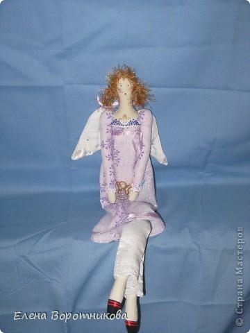 Вот такой Пирожковый ангелочек поселился у меня на холодильнике ))) фото 2