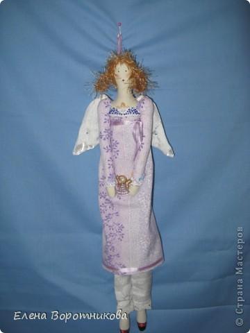 Вот такой Пирожковый ангелочек поселился у меня на холодильнике ))) фото 3