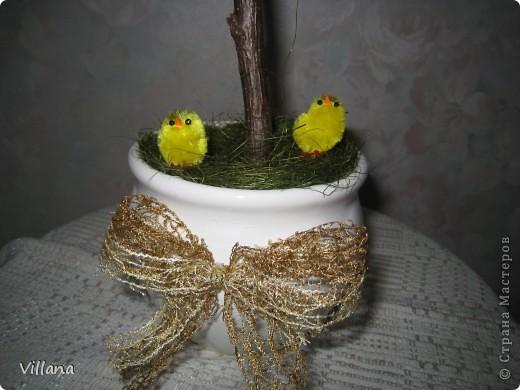 Вот такие деревья сделала к пасхе))))) фото 6