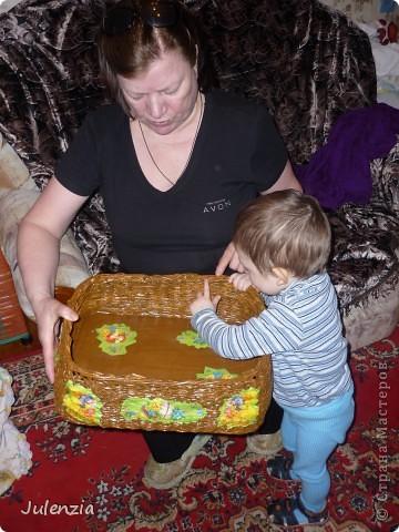 Коробочек для куличей и яиц фото 1