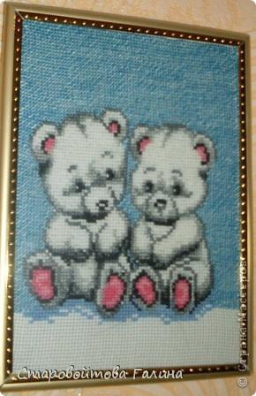 вышивка  крестиком фото 2