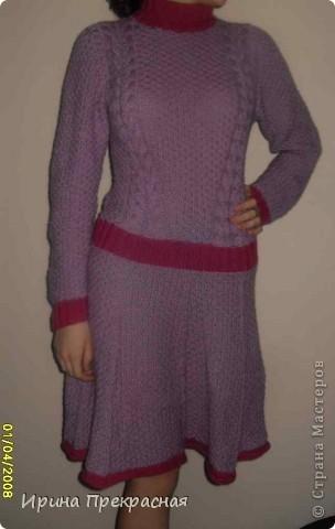Розовое платье фото 1