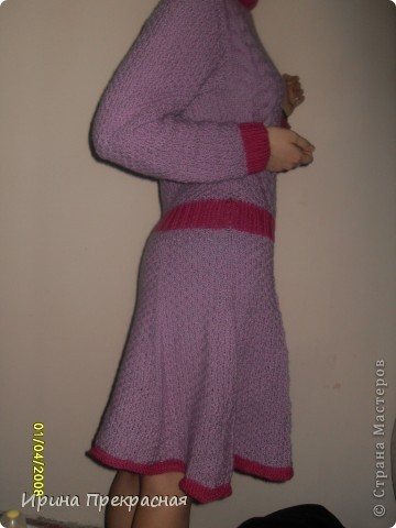 Розовое платье фото 3