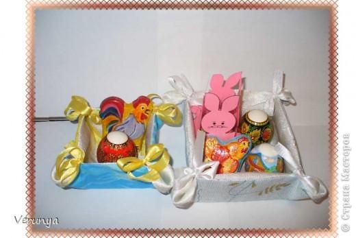 Подарок тётушке. Увидела в интернете, как украсить лентами и бисером яйцо к Пасхе. фото 3