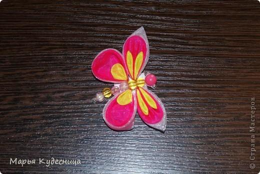 Бабочка на повязке фото 2