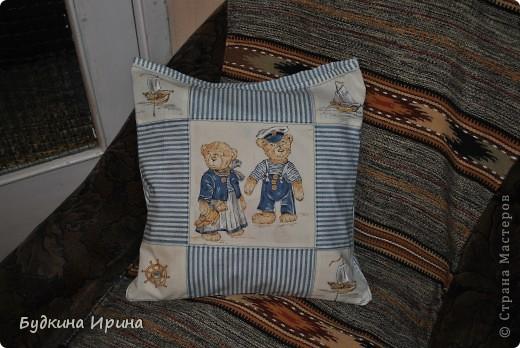 Наволочка и подушечка для племянничка фото 1