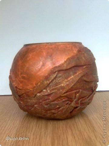 Вот такая вазочка. фото 1