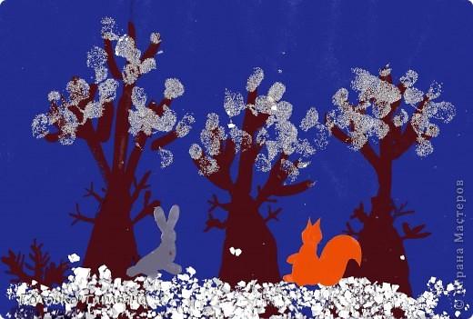 Зимний лес полон сказок и чудес