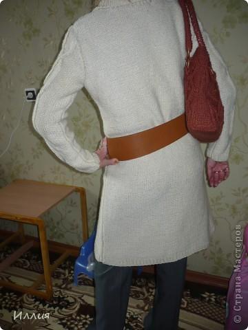 Ну вот наконец то сфоткала... Пальто связано уже как несколько месяцев, но все никак не могла похвалиться. фото 2