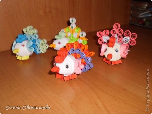 Мои маленькие пасхальные курочки фото 1