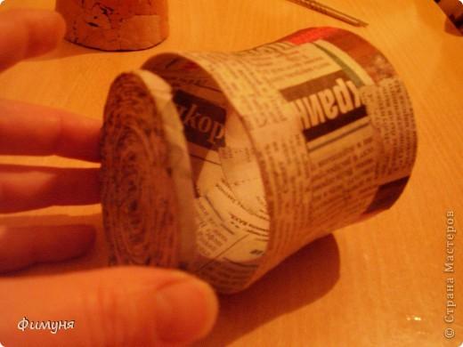 Сотвори из газеты. Папье-маше. Кратенький МК. фото 17