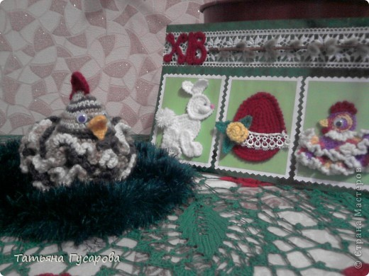 Вот такие  получились подарки к Пасхе. фото 3