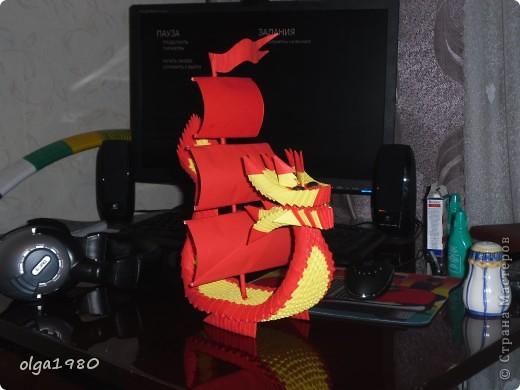 Зайки модницы. Мой первый опыт в модульном оригами. фото 3