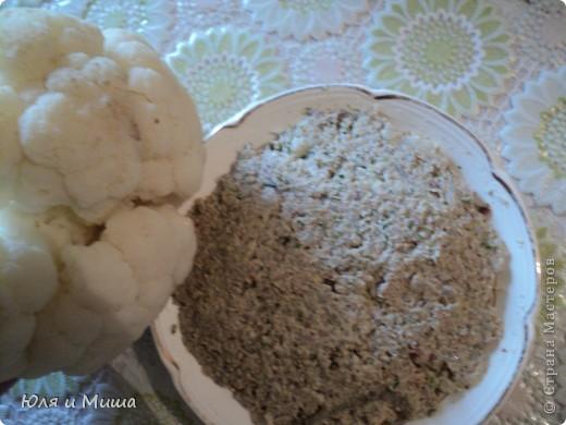 Пхали из цветной капусты в Грузии считается салатом и часто подается к праздничному столу.  Скажу по секрету, что очень вкусно кушается с картошечкой в мундирах!  фото 1