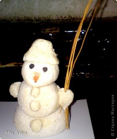Новогодние игрушки из солёного теста фото 2