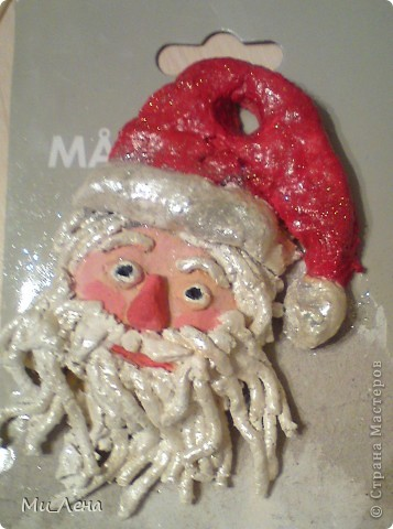 Новогодние игрушки из солёного теста фото 10