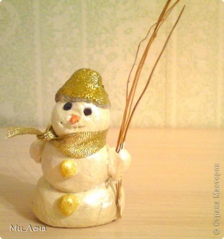 Новогодние игрушки из солёного теста фото 3