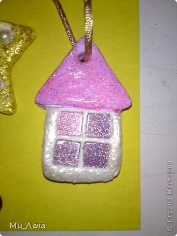 Новогодние игрушки из солёного теста фото 20