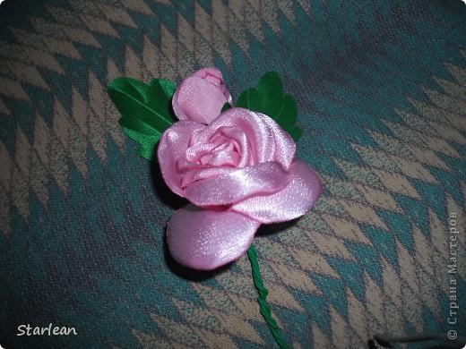 брошка-роза фото 5